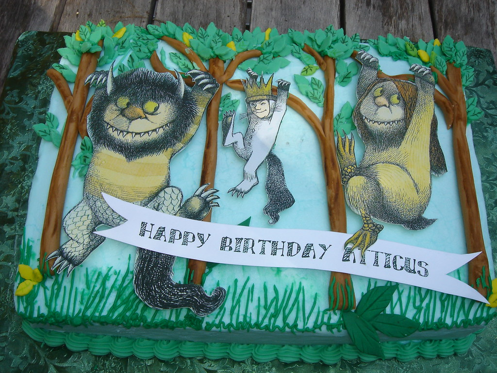 where the wild things are birthday party | The cake was a ...