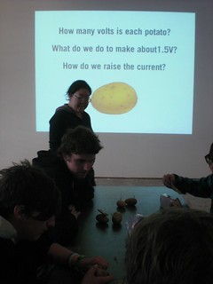 The making of a Potato Orchestra with Kaho Abe | by eyebeam
