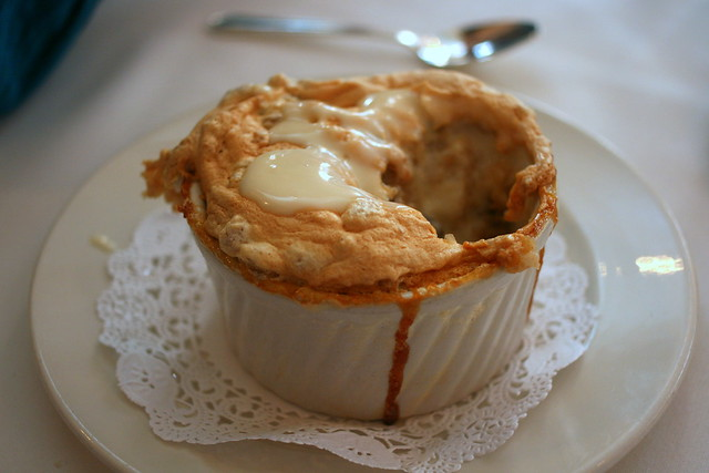 Creole Bread Pudding Souffle with Whiskey Sauce | Flickr - Photo ...