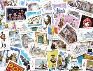 Romanian Stamps Postcard | by KLMircea