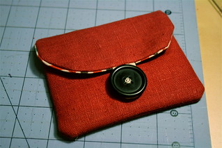 Simple little linen pouch | by alissahcarlton