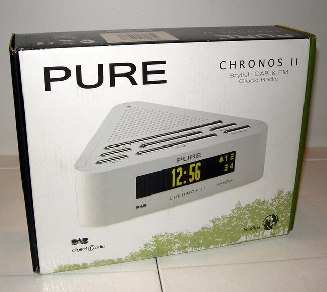 pure chronos ii dab digital radio alarm clock matt kieffer flickr. Black Bedroom Furniture Sets. Home Design Ideas