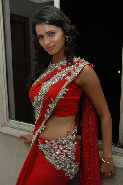 Hot Indian Woman In Red Saree  See More Sexy Pictures Hot -5989