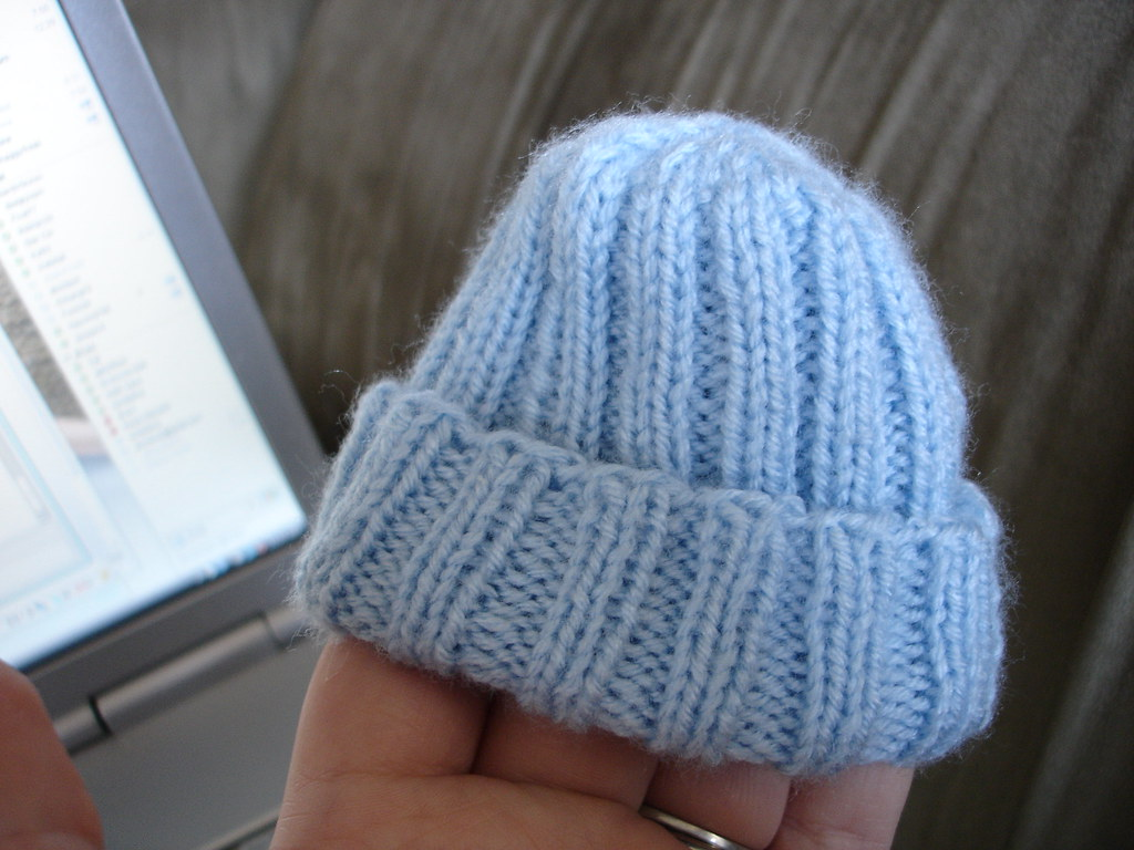 Knitting For Babies Charity : Preemie hat for the charity knitting group pattern bev