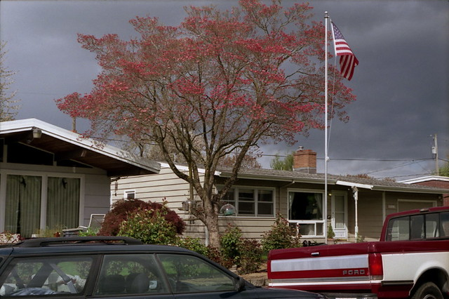 House Flag Tree Car Truck 220 Outer Ne Portland Oregon A Flickr