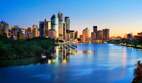 Brisbane City Sunrise | Flickr - Photo Sharing!