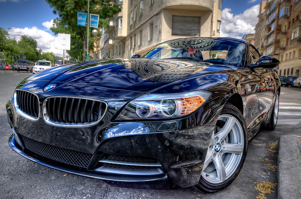 bmw z4 sdrive 23i hdr hdr from 3 bracketed exposures. Black Bedroom Furniture Sets. Home Design Ideas