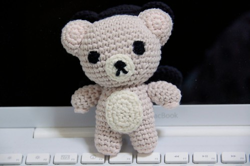 Teddy on the Computer | by Chi (in Oz)