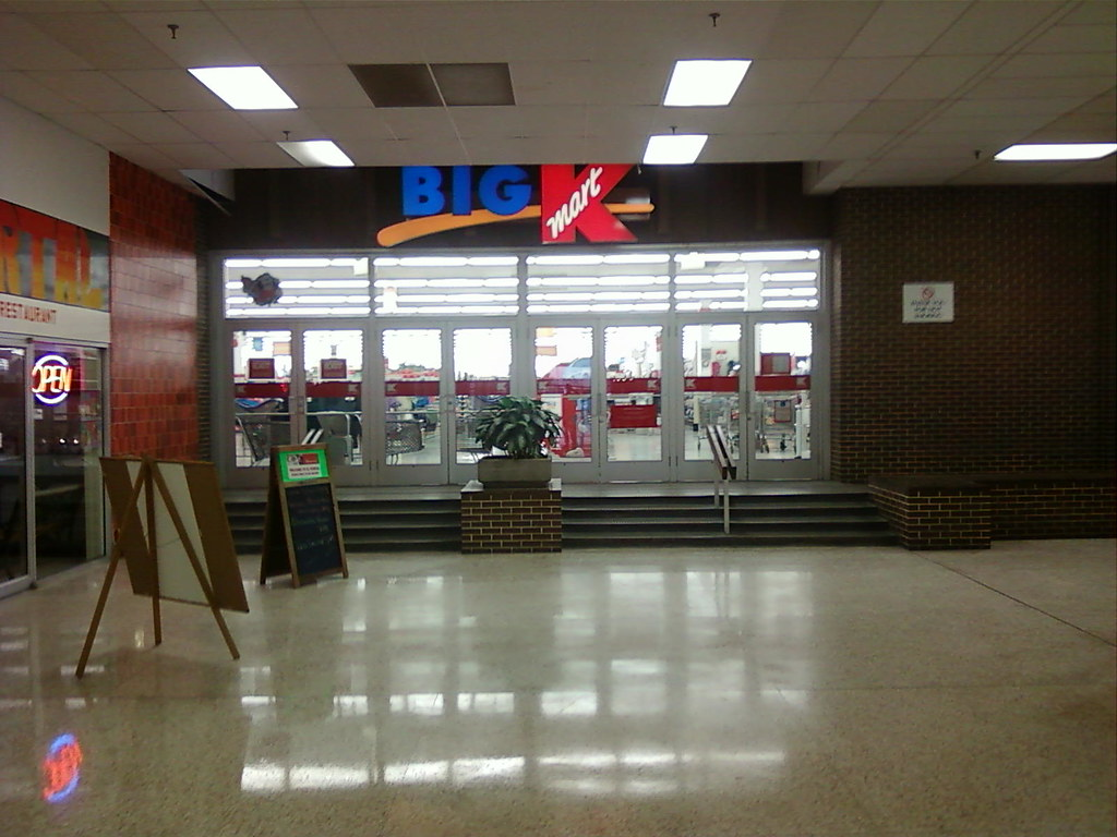 Kmart Marshalltown Iowa Mall Entrance The Mall Is A