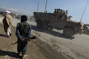 Bagram air base in Afghanistan was attacked by resistance forces on May 19, 2010. The U.S. imperialists and NATO have occupied the central Asian nation since 2001.Over 1,000 occupation troops have been killed. | by Pan-African News Wire File Photos