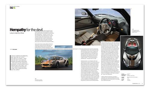 Hemp Car Motors Modern Design Magazine November 2088 I