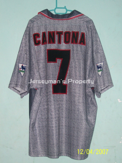 new arrival 84d1e 0f2ae 1995-1996 Man United Away Jersey (back) | 1995-1996 Man Unit ...