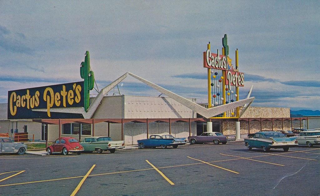 Cactus Pete S Jackpot Nevada Bar Casino Motel