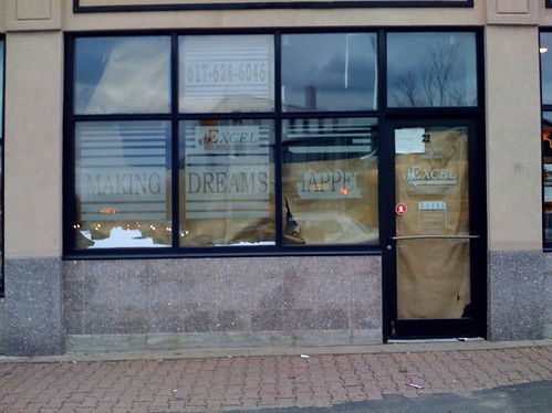 Scenes from a broken economy: shuttered mortgage services store | by Chris Devers