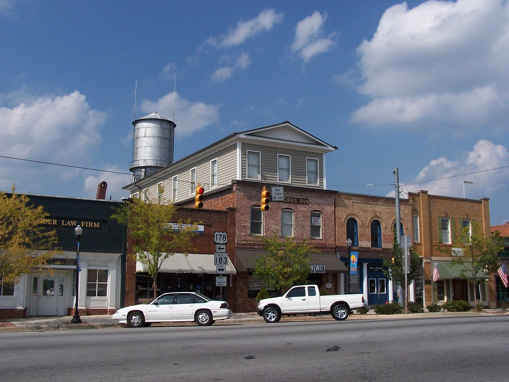 Beautiful Downtown Pickens South Carolina Pickens A