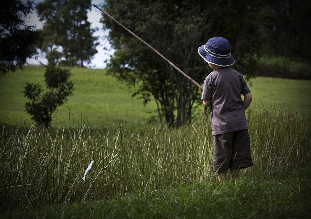 little boy fishing   {JO}   Flickr