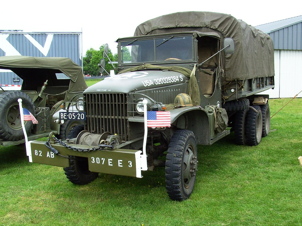 New Gmc Truck >> 1943 GMC CCKW army truck | Wings & Wheels Hoogeveen | Flickr