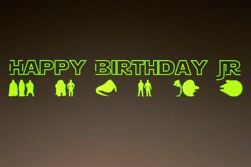 Star Wars Birthday Cake Party Actors