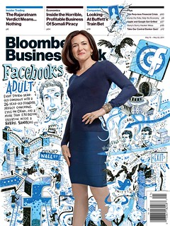 Sheryl Sandberg/Facebook Cover | by bizweekdesign