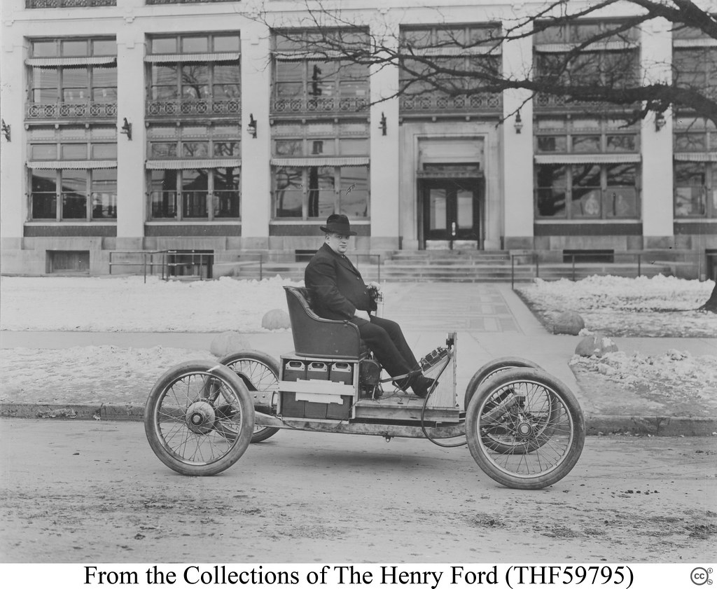 From the collections of henry ford for Ford motor company news