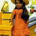 Sonali in Josefina's Riding Outfit