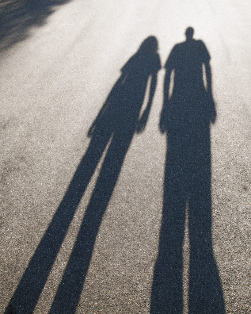 daughter & father | Shadow of Girl and her dad in the ...