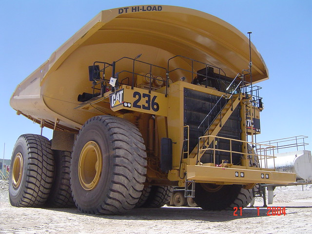 Caterpillar 797 truck at Escondida, Chile | iSolutions ...