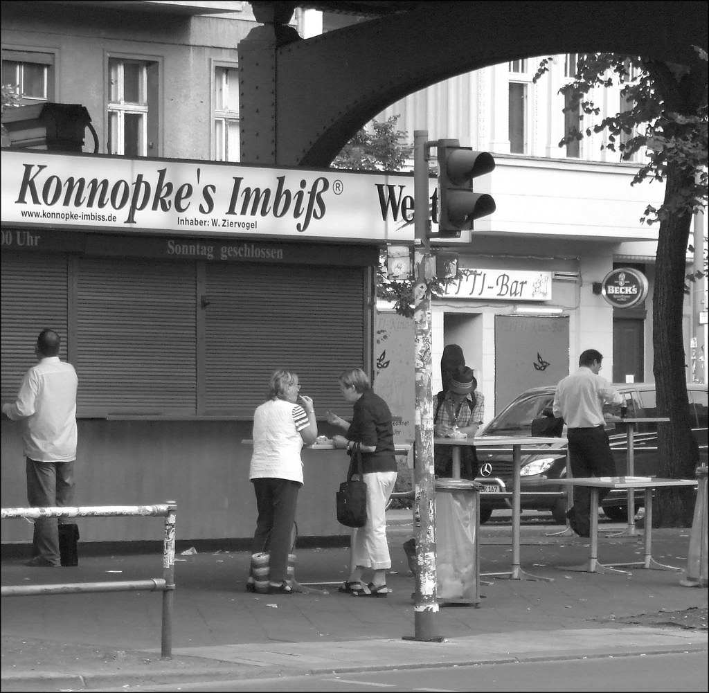 konnopke 39 s imbiss this place sells the most famous curry w flickr. Black Bedroom Furniture Sets. Home Design Ideas