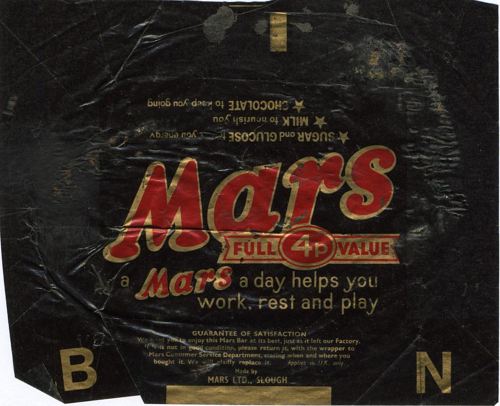 mars chocolate 4p of marketing