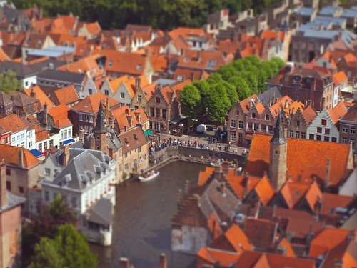 Tilt-shifted Bruges.. | by tscheirl