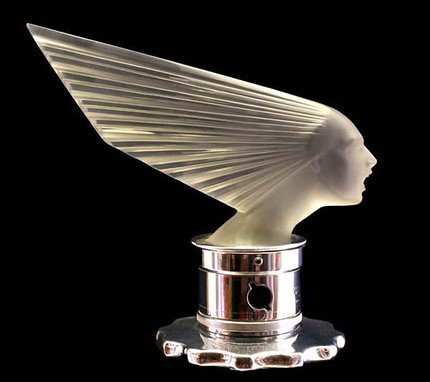Art Deco Hood Ornament In Years Past Just As Today Car