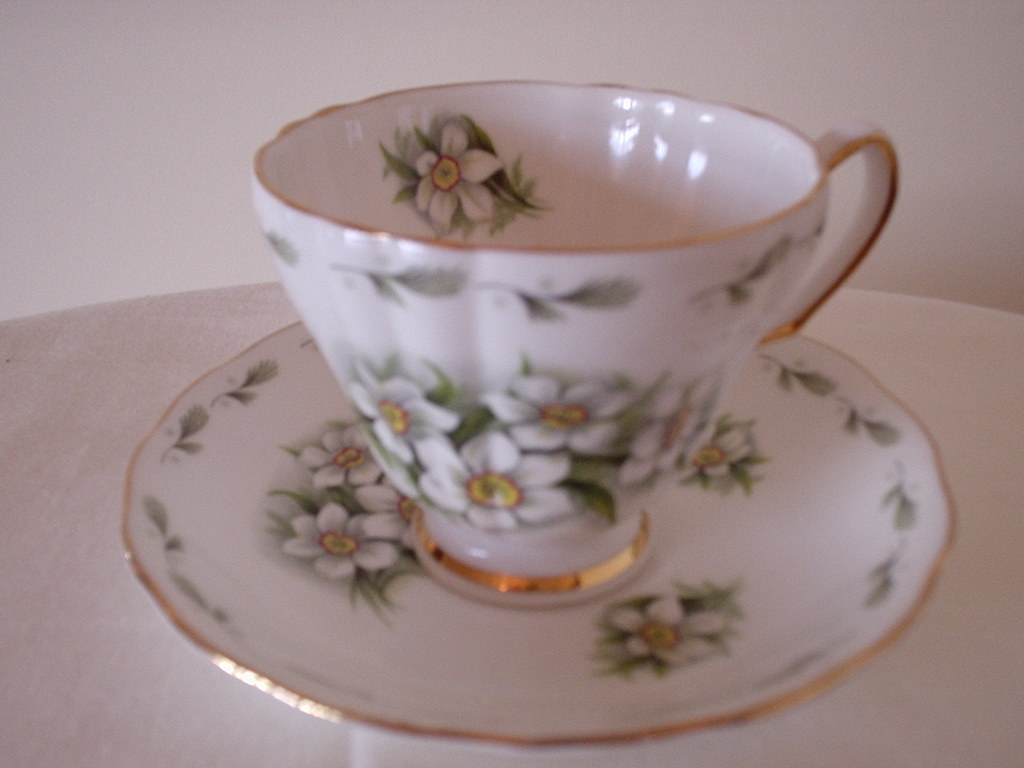 Royal Vale Bone China Tea Cup And Saucer Ca 1953 1964