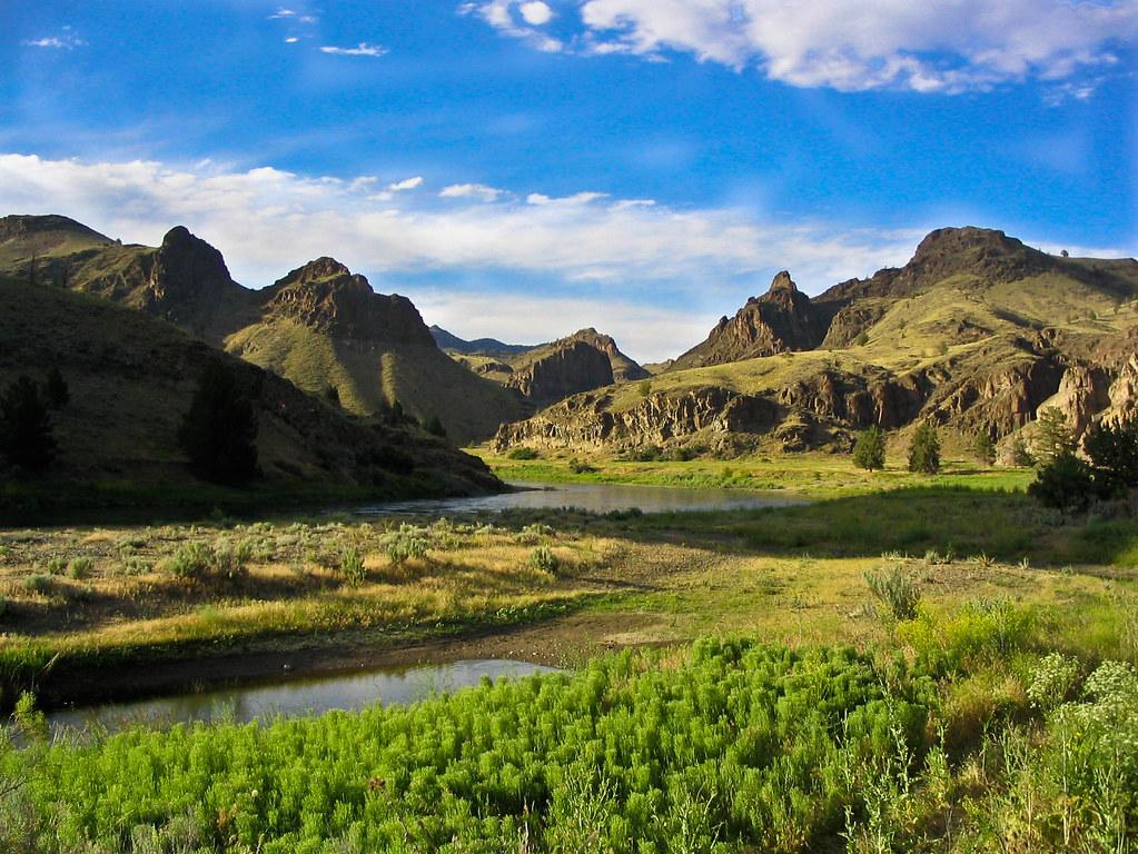 Central Oregon Landscape | Near the John Day River in ...