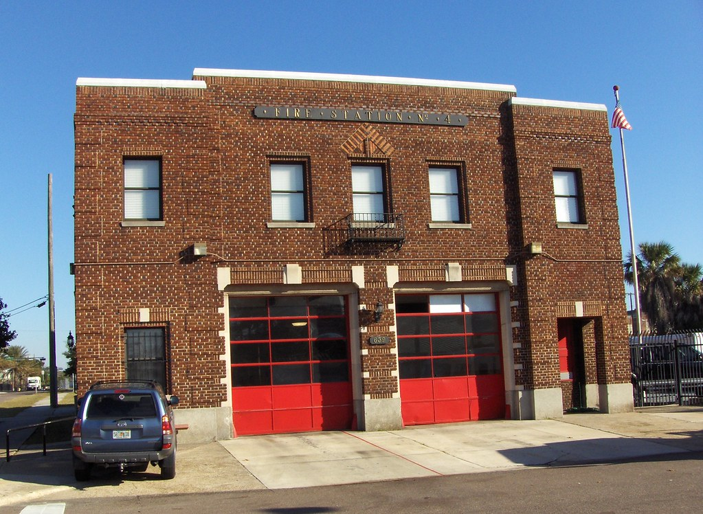 Fire Station 4 Jacksonville Fl Built 1927 Lance