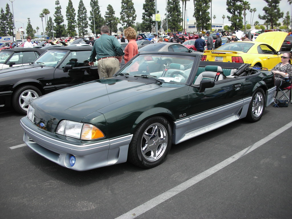 ford mustang foxbody convertible navymailman flickr. Black Bedroom Furniture Sets. Home Design Ideas