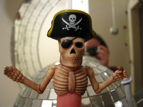 Pirate Finger Puppet (from Logan) | by Uncle Catherine