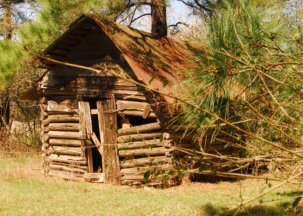 Genial East Texas 1800u0027s | Log Cabin Is On The Fau2026 | Flickr