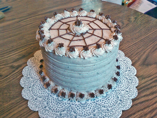 Cinnamon Buttercream Cake