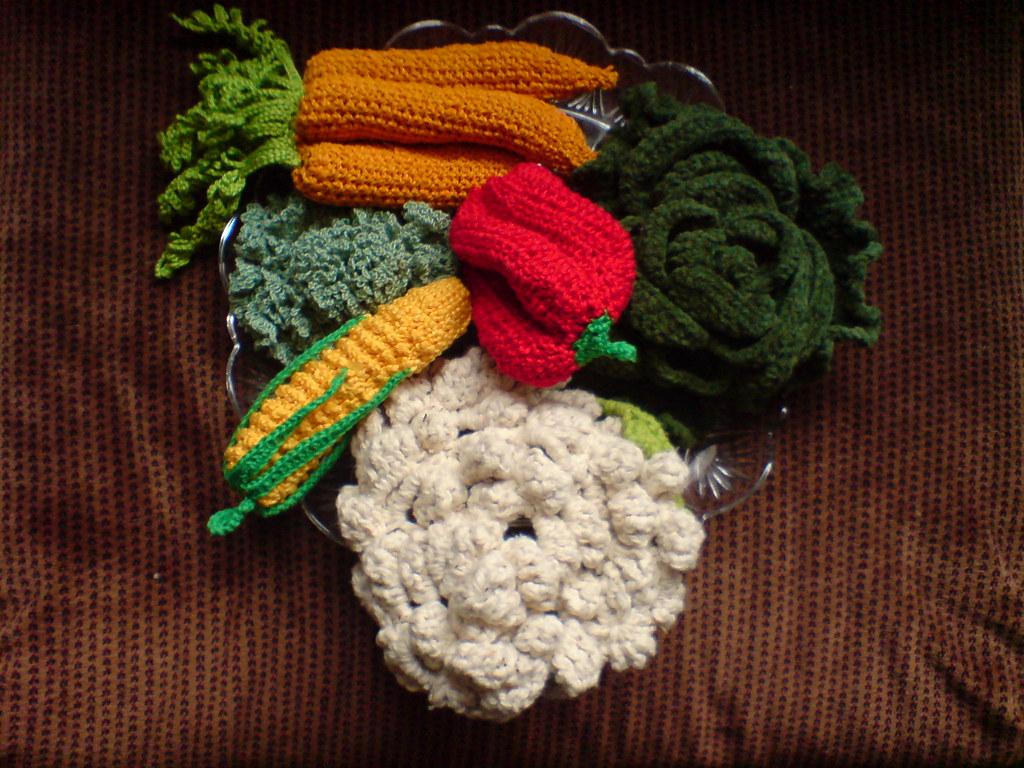 Crochet Patterns Vegetables Free Dancox For