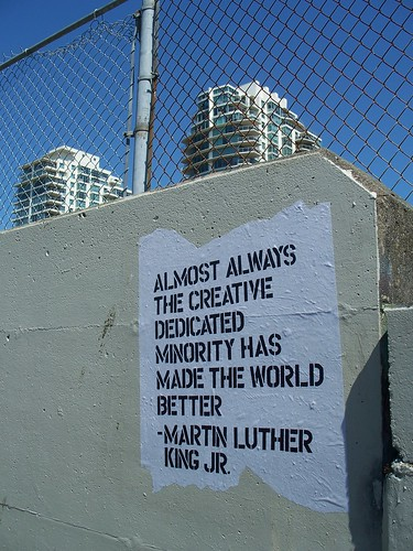martin luther king jr. quote | by Johnny Bauer