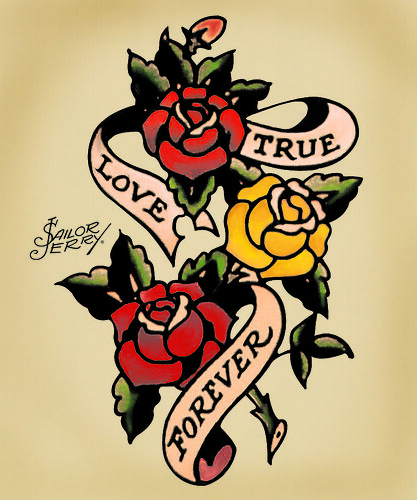 Sailor Jerry Forever Roses Flickr Photo Sharing