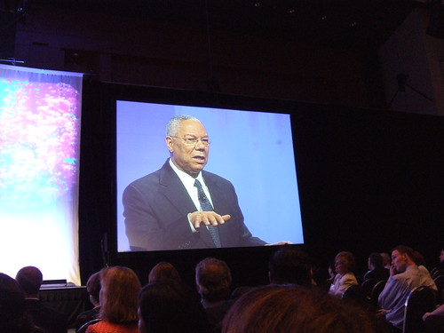 Keynote by Colin Powell | by nengard