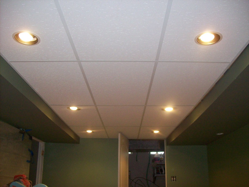 Led Recessed Lighting For Drop Ceilings : Drop ceiling and recessed lights new