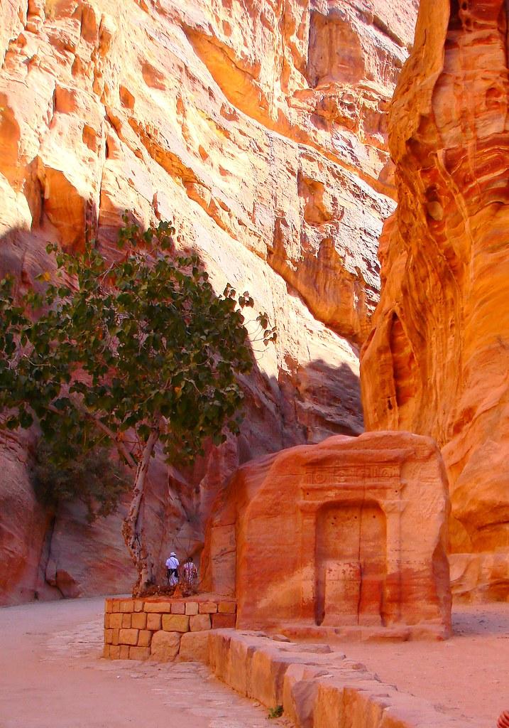 The Rose Pink City Of Petra Jordan Petra Is Like No