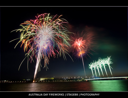 Australia Day Fireworks | by Sam Ilić