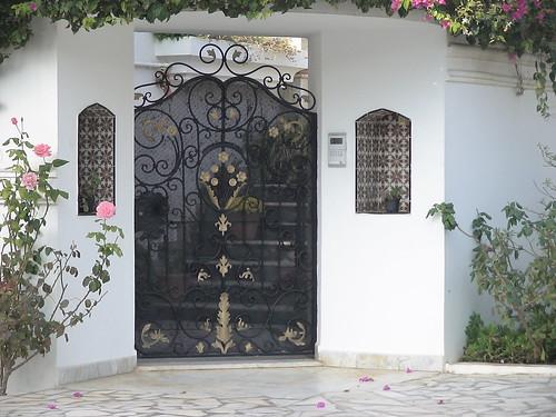 Style de porte exterieure en fer forg tunis flickr for Porte fer forge en tunisie