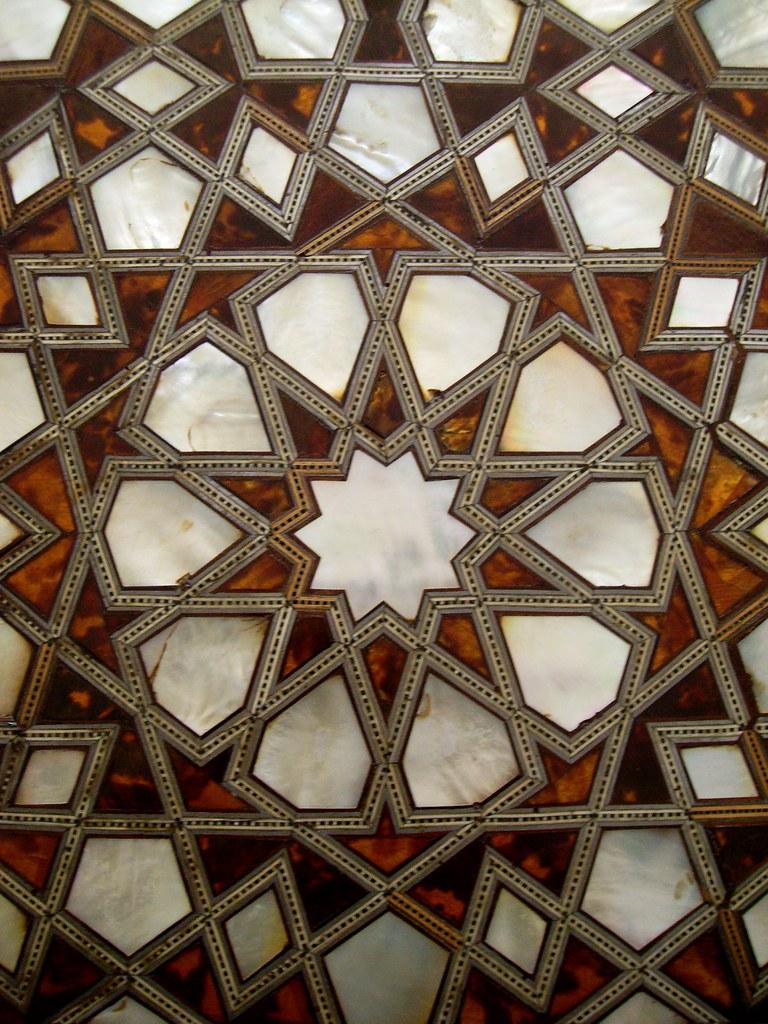Detail Of A Door Inside Topkapi Sarayi Istanbul Turkey