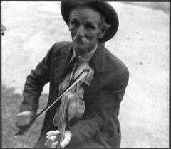 Fiddlin' Bill Hensley, mountain fiddler, Asheville, North Carolina (LOC) | by The Library of Congress