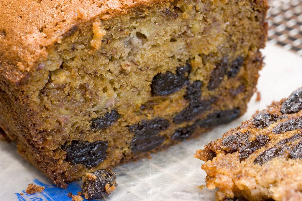 Chocolate Banana Bread Made With Cake Mix