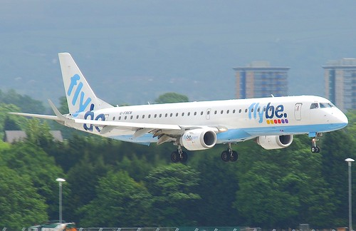FlyBe Embraer ERJ-190; G-FBEN@MAN;14.05.2011/596cq | by Aero Icarus